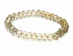 Bracelet Cristaux Swarovski Golden Shadow